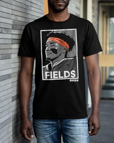 justin fields bears shirt