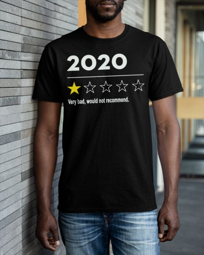 2020 one star shirt