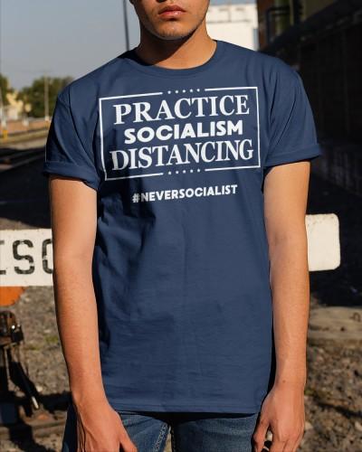 socialism distancing shirt