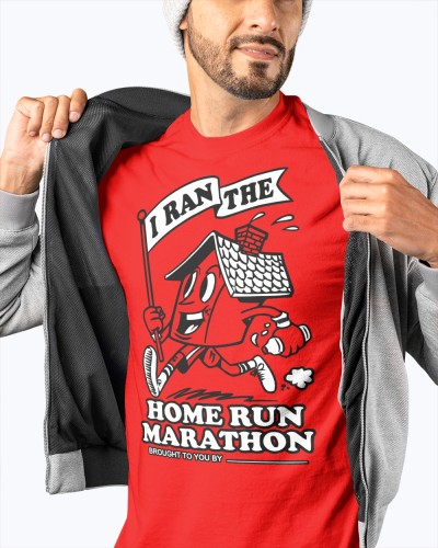 home run marathon shirt