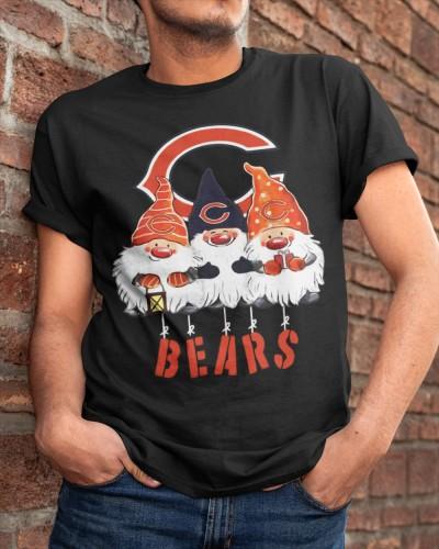 Gnomies Chicago Bears Christmas Shirt Jesrey