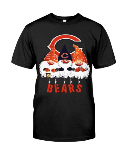 Gnomies Chicago Bears Christmas Shirt