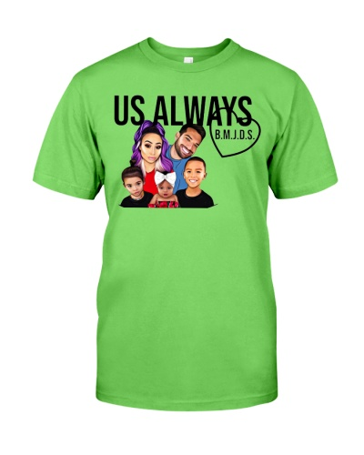 us always merch shirt