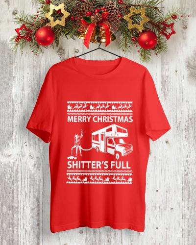 Merry Christmas Shitters Full Funny Shirt
