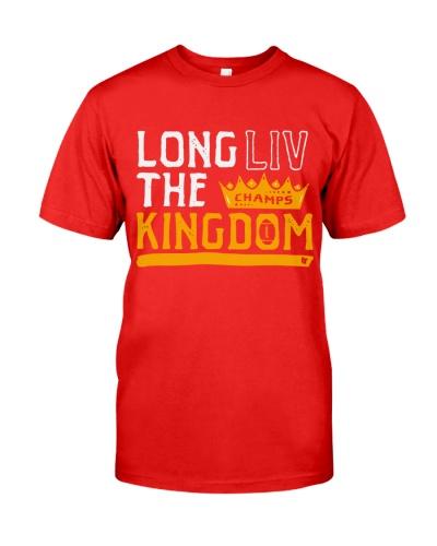 Kansas City Champion Long LIV the Kingdom Shirt