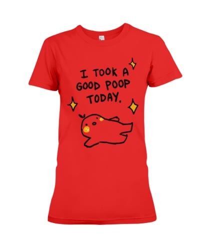 i took a good poop today shirt