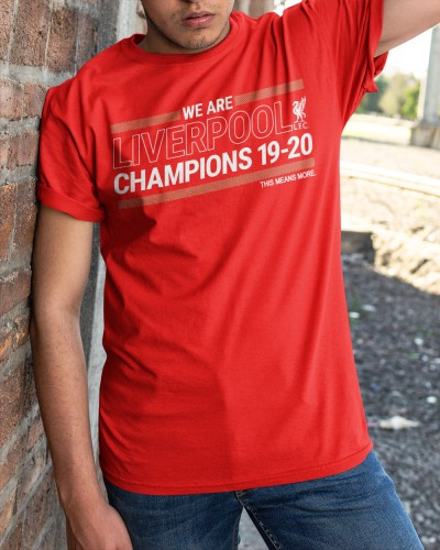 liverpool fc champions 2020 shirt