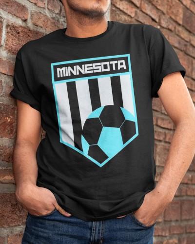 Minnesota Soccer Jersey Style Football Shir