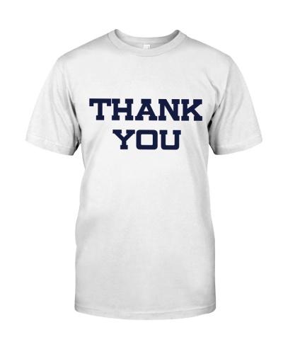 Ron Rivera Thank You Shirt Jersey
