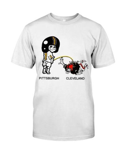Pittsburgh Pee Cleveland Shirt