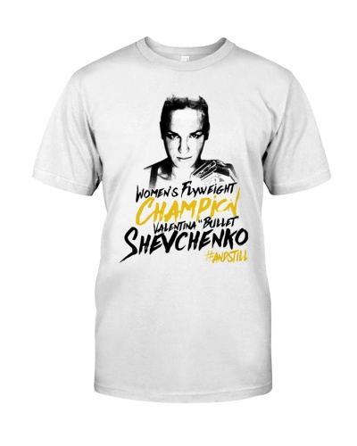 Valentina Bullet Shevchenko Winner Shirt