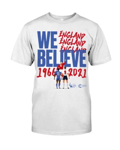 We Believe England t shirt