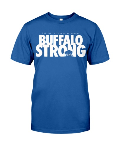 buffalo strong t shirt