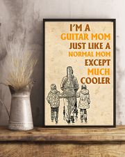 I'm A Guitar Mom Just Like A Normal Mom 11x17 Poster lifestyle-poster-3