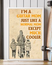 I'm A Guitar Mom Just Like A Normal Mom 11x17 Poster lifestyle-poster-4
