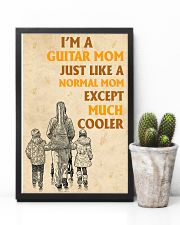 I'm A Guitar Mom Just Like A Normal Mom 11x17 Poster lifestyle-poster-8