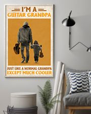 I'm A Guitar Grandpa Just Like A Normal Grandpa 11x17 Poster lifestyle-poster-1