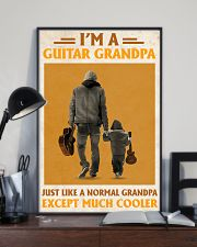 I'm A Guitar Grandpa Just Like A Normal Grandpa 11x17 Poster lifestyle-poster-2