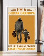 I'm A Guitar Grandpa Just Like A Normal Grandpa 11x17 Poster lifestyle-poster-4