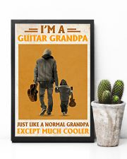 I'm A Guitar Grandpa Just Like A Normal Grandpa 11x17 Poster lifestyle-poster-8