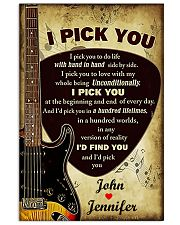 I Pick You To Do Life 11x17 Poster front
