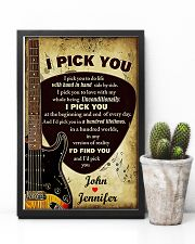 I Pick You To Do Life 11x17 Poster lifestyle-poster-8