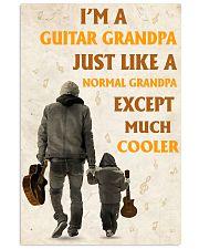 I'm A Guitar Grandpa Just Like A Normal Grandpa 11x17 Poster front