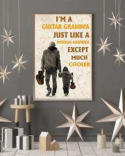 I'm A Guitar Grandpa Just Like A Normal Grandpa 11x17 Poster lifestyle-holiday-poster-1