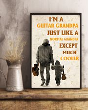 I'm A Guitar Grandpa Just Like A Normal Grandpa 11x17 Poster lifestyle-poster-3