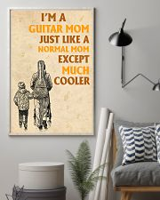 I'm A Guitar Mom Just Like A Normal Mom 11x17 Poster lifestyle-poster-1