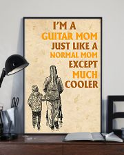 I'm A Guitar Mom Just Like A Normal Mom 11x17 Poster lifestyle-poster-2