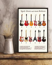 Guitars 11x17 Poster lifestyle-poster-3
