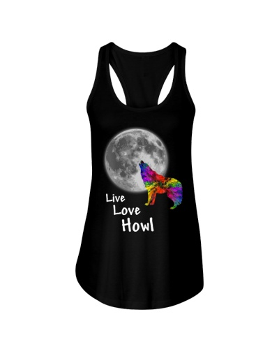 Live Love and Howl at the Moon T-Shirt