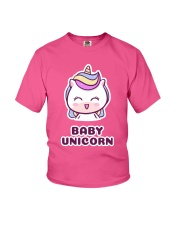 Baby Unicorn Youth T-Shirt front