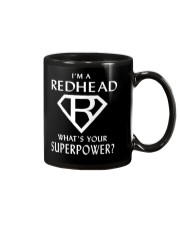 I AM A REDHEAD - WHAT'S YOUR SUPERPOWER Mug thumbnail