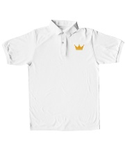 king polo Classic Polo embroidery-polo-short-sleeve-layflat-front