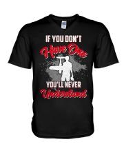 RC Plane Shirt V-Neck T-Shirt thumbnail