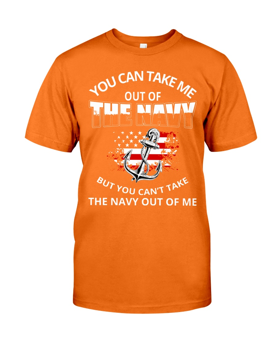 You-can-take-me-out-of-the-navy Classic T-Shirt