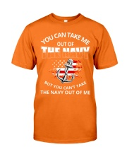 You-can-take-me-out-of-the-navy Classic T-Shirt front