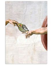 Michelangelo Parrot and hand poster 11x17 Poster front