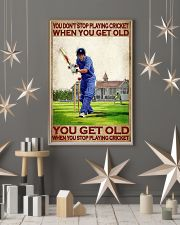 You don't stop playing cricket when old poster 11x17 Poster lifestyle-holiday-poster-1