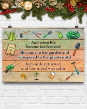 Garden And when life became too frenzied poster 24x16 Poster aos-poster-landscape-24x16-lifestyle-29
