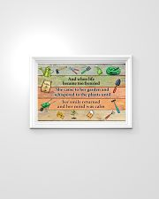 Garden And when life became too frenzied poster 24x16 Poster poster-landscape-24x16-lifestyle-02