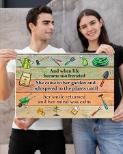 Garden And when life became too frenzied poster 24x16 Poster poster-landscape-24x16-lifestyle-21