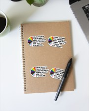 Equal rights for others does not mean sticker Sticker - 4 pack (Vertical) aos-sticker-4-pack-vertical-lifestyle-front-29