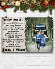 Personalized Truck The day I met you I poster 24x16 Poster aos-poster-landscape-24x16-lifestyle-29