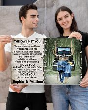Personalized Truck The day I met you I poster 24x16 Poster poster-landscape-24x16-lifestyle-21