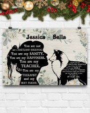 You are not just a shetland sheepdog poster 24x16 Poster aos-poster-landscape-24x16-lifestyle-29