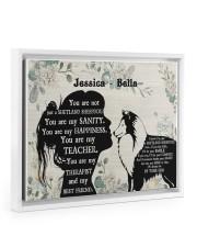 You are not just a shetland sheepdog poster Floating Framed Canvas Prints White tile