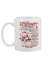 Snowman to my mother never forget I love you mug Mug back